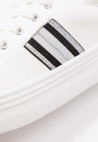 No Name - PLATO DERBY - Trainers - white/silver - 2