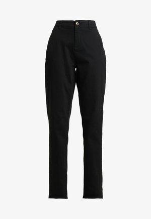 NMHARLEM REGULAR PANTS - Bukse - black