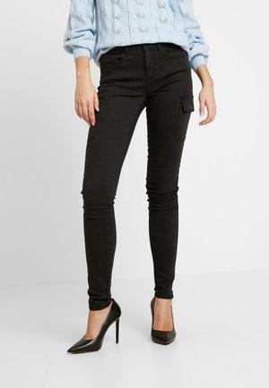 NMLUCY UTILITY PANTS - Jeans Skinny - black