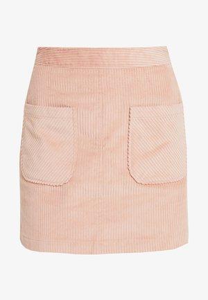 NMANYA HW SKIRT 2 TALL - Mini skirt - mellow rose
