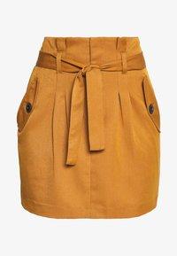 Noisy May Tall - ROBERT SKIRT TALL - Minifalda - brown - 3