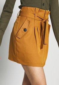 Noisy May Tall - ROBERT SKIRT TALL - Minifalda - brown - 4