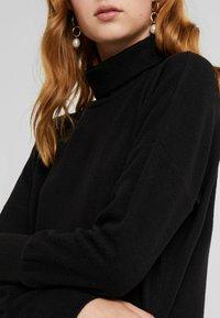Noisy May Tall - NMCITY BAT SHORT DRESS - Jumper dress - black - 5