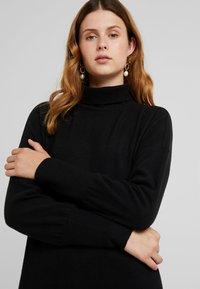 Noisy May Tall - NMCITY BAT SHORT DRESS - Jumper dress - black - 3