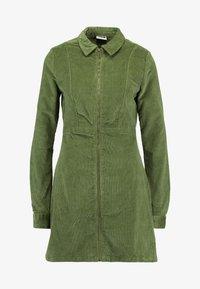 Noisy May Tall - NMLISETTA ZIP DRESS - Vestido informal - olivine - 5
