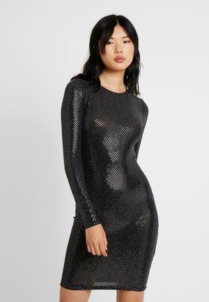 NMNIGHT DRESS - Etuikjole - black