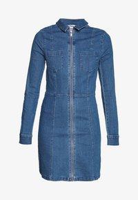 Noisy May Tall - NMLISA DRESS  - Vestido vaquero - medium blue denim - 3