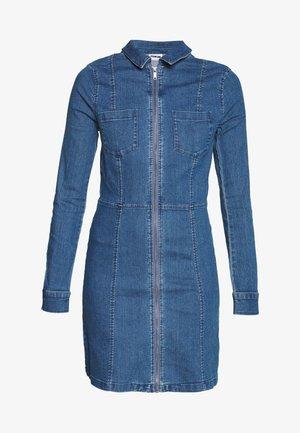 NMLISA DRESS  - Spijkerjurk - medium blue denim