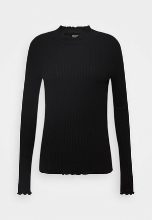 NMBERRY HIGH NECK - Svetr - black
