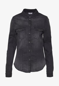 Noisy May Tall - Chemisier - black denim - 3