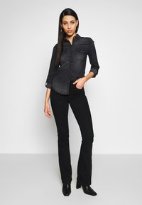 Noisy May Tall - Chemisier - black denim - 1