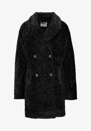 NMCALEB - Zimní kabát - black