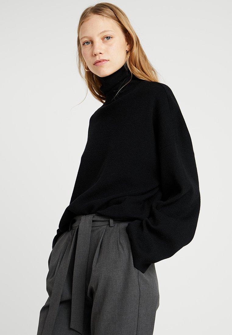 Noisy May Tall - NMSHIP ROLL NECK - Pullover - black