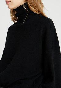 Noisy May Tall - NMSHIP ROLL NECK - Pullover - black - 4