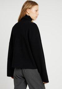 Noisy May Tall - NMSHIP ROLL NECK - Pullover - black - 2