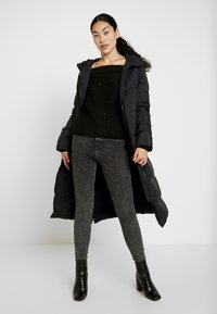 Noisy May Tall - NMPHOEBE OFF SHOULDER - Trui - black - 1