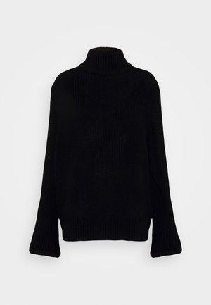 NMTOMMY HIGH NECK - Sweter - black