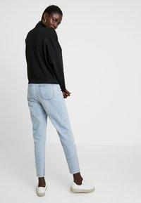 Noisy May Tall - NMHALLY ZIP - Sweatshirt - black - 2
