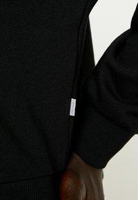 Noisy May Tall - NMHALLY ZIP - Sweatshirt - black - 5