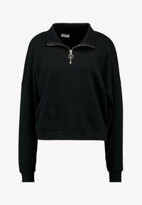 Noisy May Tall - NMHALLY ZIP - Sweatshirt - black - 4