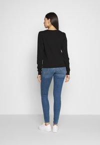 Noisy May Tall - NMELI PUFF TALL - Sweatshirt - black - 2