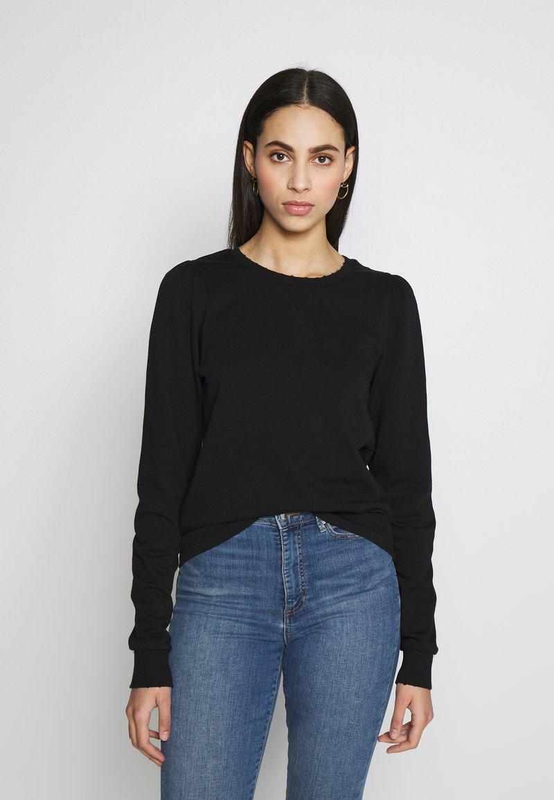 Noisy May Tall - NMELI PUFF TALL - Sweatshirt - black