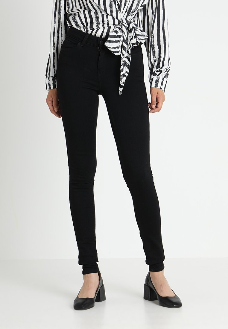 Noisy May Tall - NMEXTREME LUCY - Jeans Skinny Fit - black