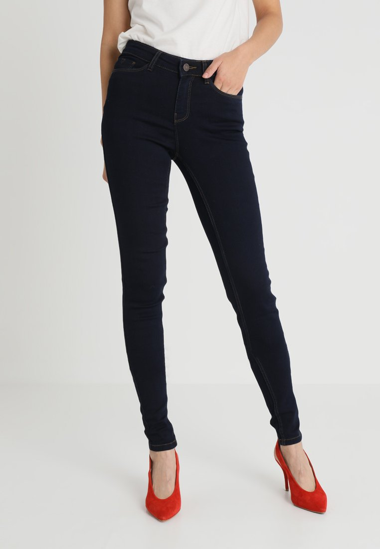 Noisy May Tall - NMEXTREME LUCY SOFT - Jeans Skinny Fit - dark blue denim