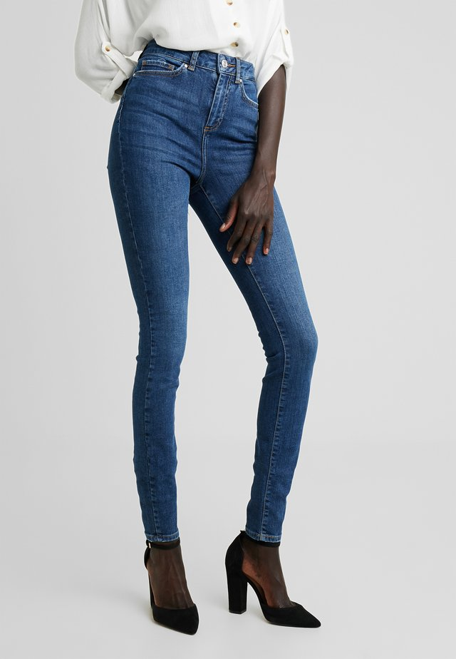 NMCALLIE - Jeans Skinny Fit - blue denim