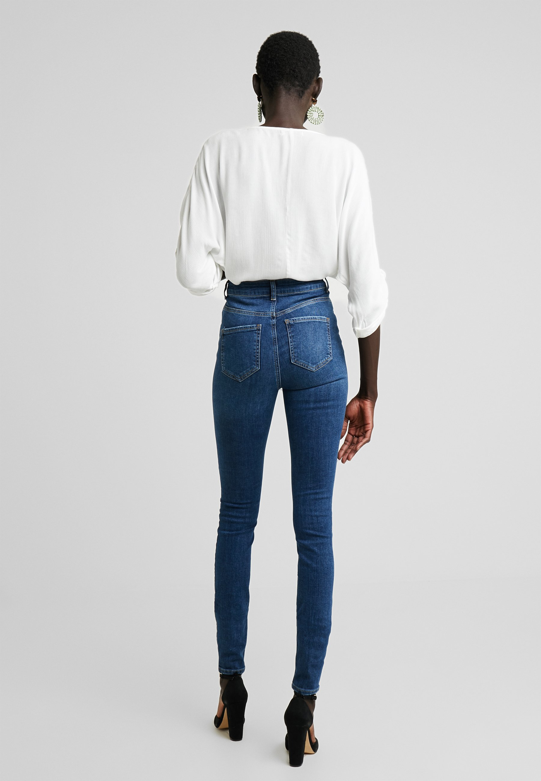 Denim Tall Skinny Blue May NmcallieJeans Noisy sdthQCr