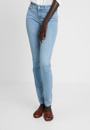 NMEVE - Skinny džíny - light blue denim