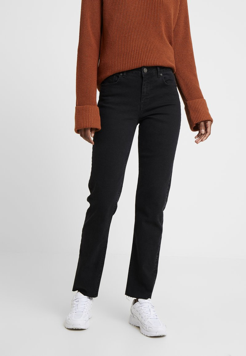 Noisy May Tall - NMJENNA - Straight leg jeans - black