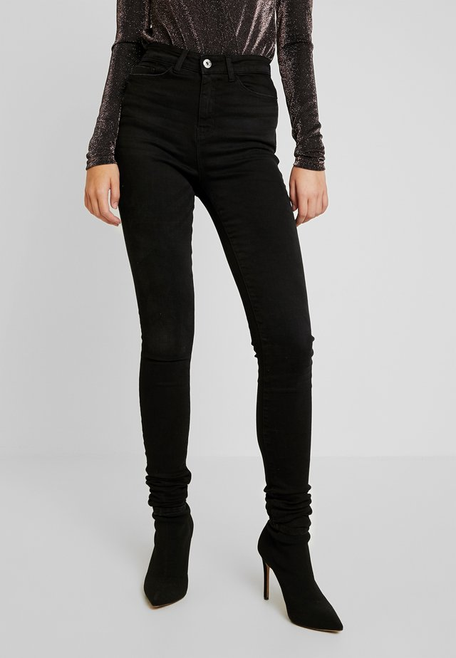 NMCALLIE - Jeans Skinny Fit - black denim
