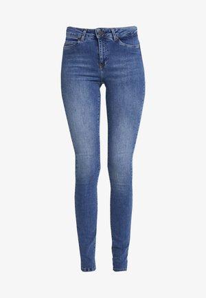 NMLUCY - Jeans Skinny - dark blue denim
