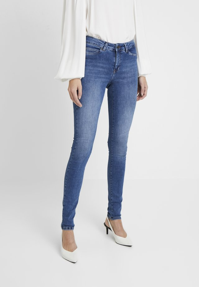 NMLUCY - Jeans Skinny Fit - dark blue denim