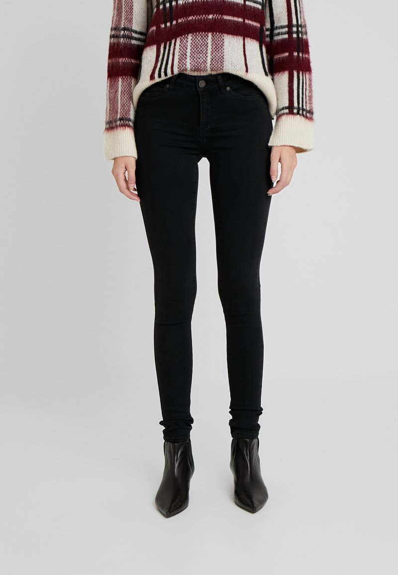 Noisy May Tall - NMLUCY - Skinny džíny - black denim