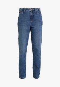 Noisy May Tall - NMMIA HEAT - Straight leg jeans - medium blue denim - 4