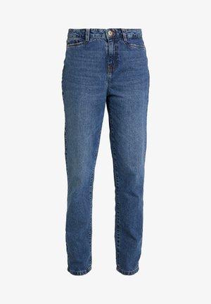 NMMIA HEAT - Straight leg jeans - medium blue denim