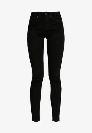 NMLUCY  - Jeansy Skinny Fit - black