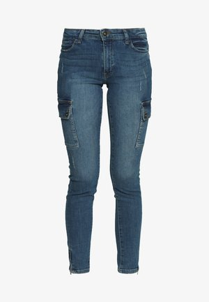 NMKIMMY - Jeans Skinny Fit - medium blue denim