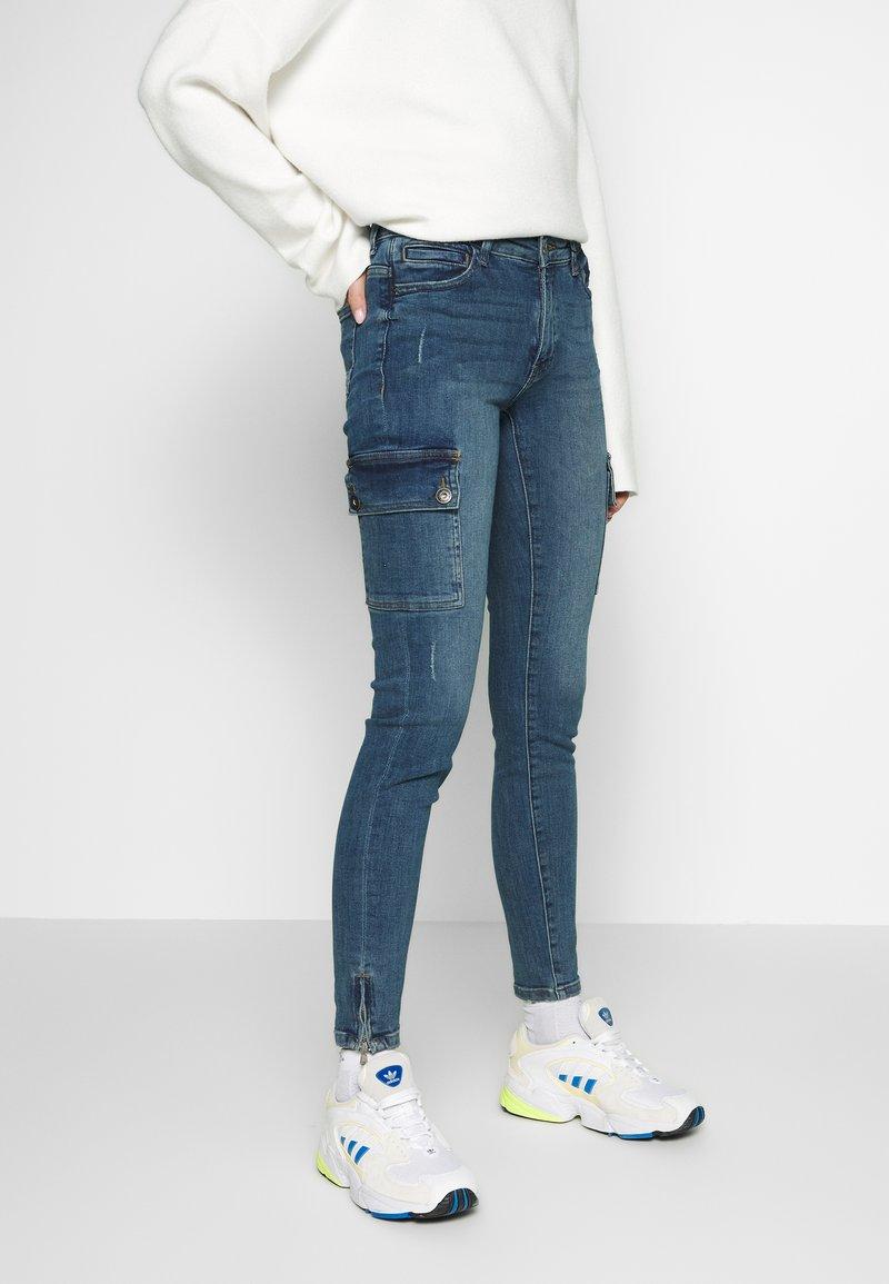 Noisy May Tall - NMKIMMY - Jeans Skinny - medium blue denim