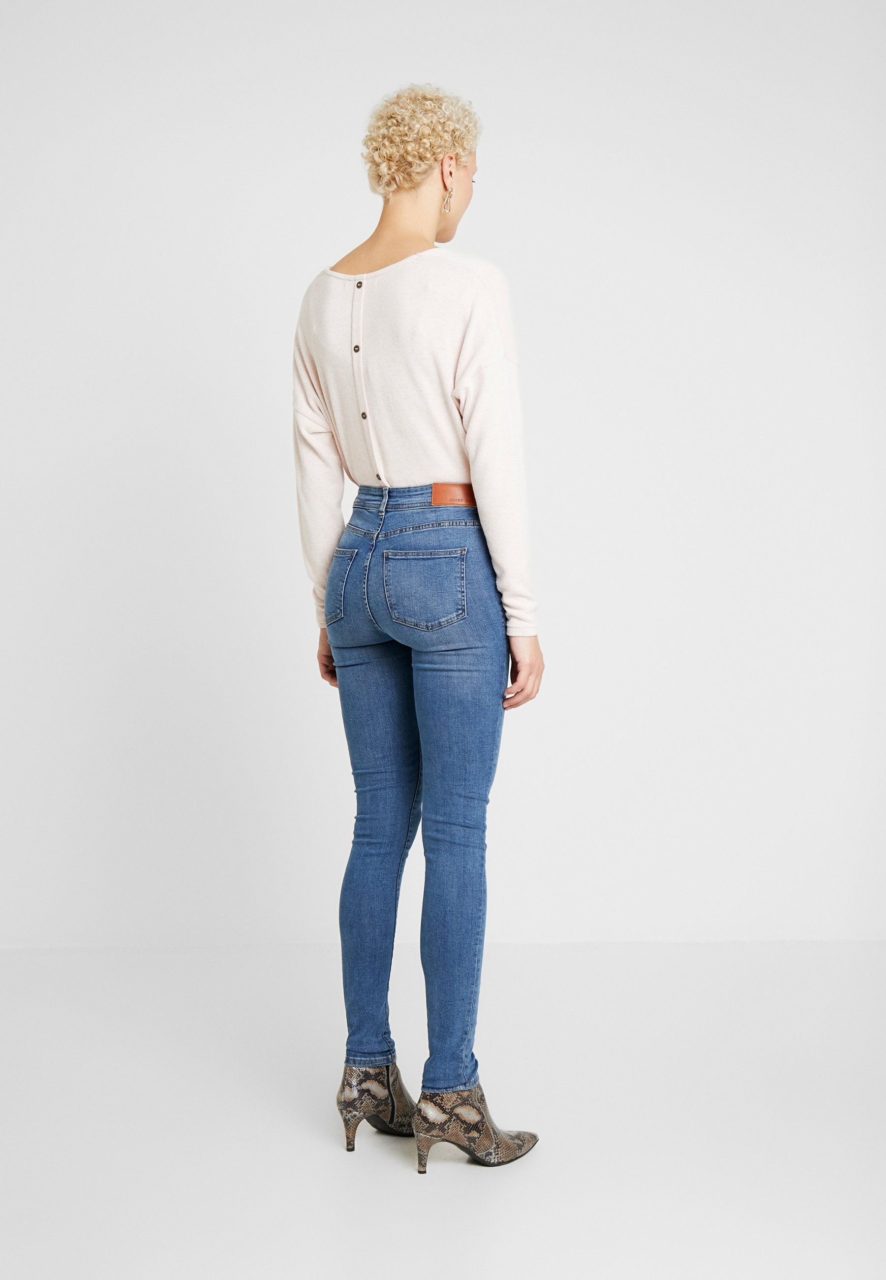 Noisy May Tall Nmlucy - Jeans Skinny Medium Blue Denim