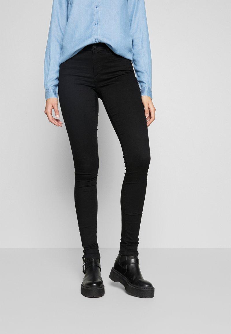 Noisy May Tall - NMJEN SHAPER - Jeans Skinny Fit - black