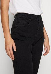 Noisy May Tall - JENNA - Straight leg jeans - black denim - 3
