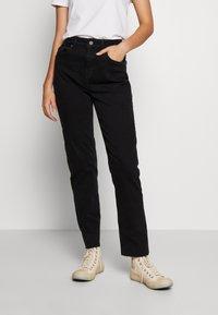 Noisy May Tall - JENNA - Straight leg jeans - black denim - 0