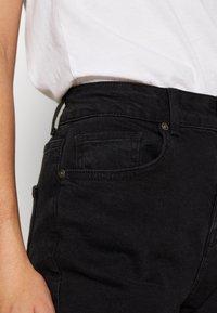Noisy May Tall - JENNA - Straight leg jeans - black denim - 6