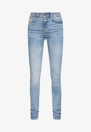 NMVICKY - Jeansy Skinny Fit - light blue denim