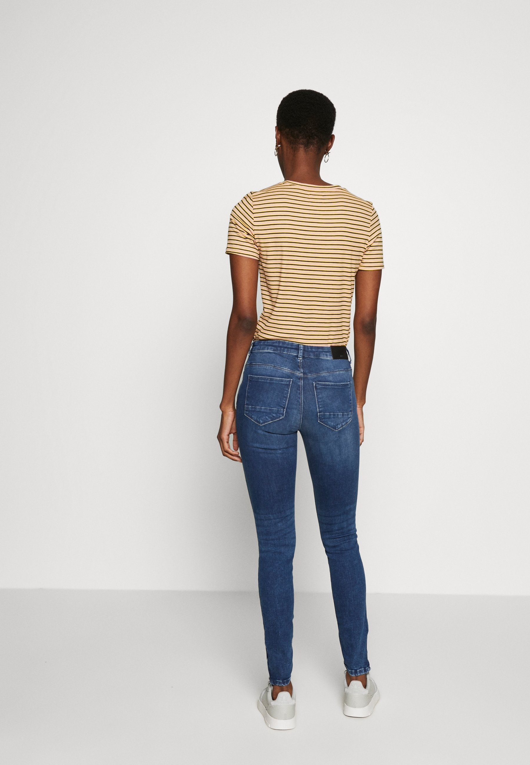 Noisy May Tall NMKIMMY NW ANKLE  - Jeansy Skinny Fit - medium blue denim