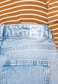 Noisy May Tall - NMLISA VOLUM - Jeans Straight Leg - light blue denim - 5