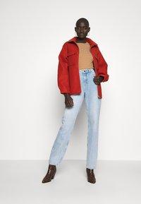Noisy May Tall - NMLISA VOLUM - Jeans Straight Leg - light blue denim - 1